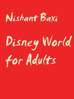 cover image of Disney World for Adults