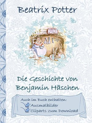 cover image of Die Geschichte von Benjamin Häschen (inklusive Ausmalbilder und Cliparts zum Download)
