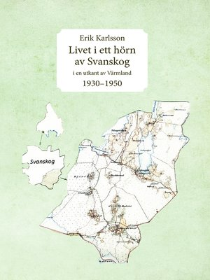 cover image of Livet i ett hörn av Svanskog