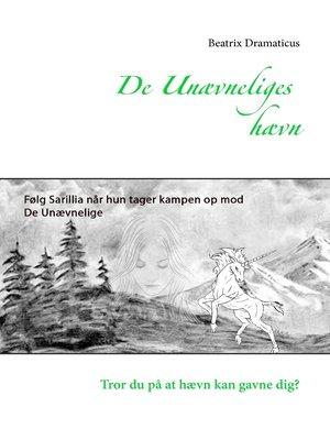 cover image of De unævneliges hævn