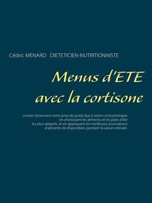 cover image of Menus d'été avec la cortisone