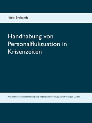 cover image of Handhabung von Personalfluktuation in Krisenzeiten