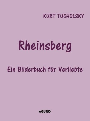 cover image of Rheinsberg