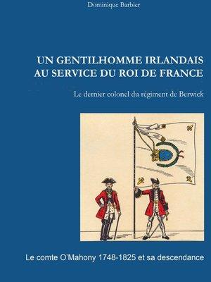 cover image of Un gentilhomme irlandais au service du roi de France