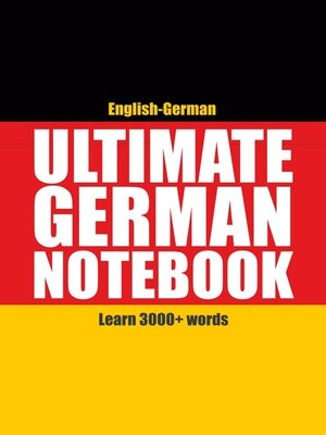 cover image of Ultimate German Notebook