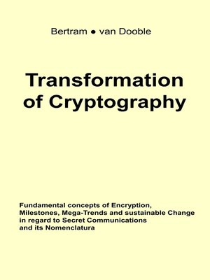 cover image of Transformation of Cryptography