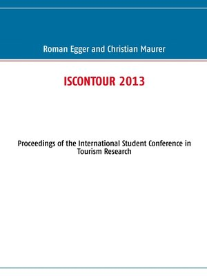 cover image of ISCONTOUR 2013