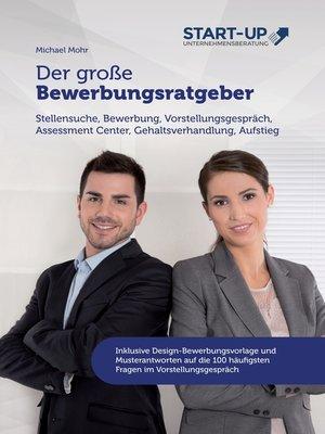 cover image of Der große Bewerbungsratgeber