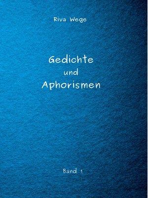 cover image of Gedichte und Aphorismen