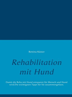cover image of Rehabilitation mit Hund