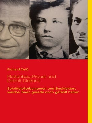 cover image of Plattenbau-Proust und Detroit-Dickens