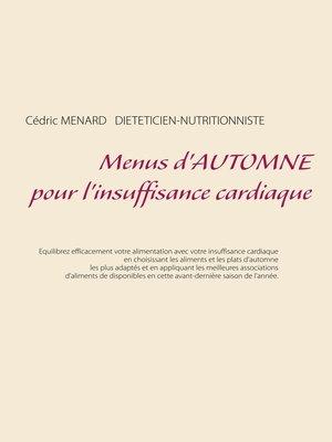 cover image of Menus d'automne pour l'insuffisance cardiaque