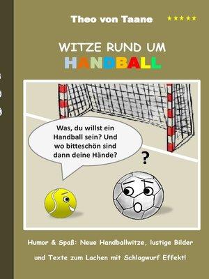 cover image of Witze rund um Handball