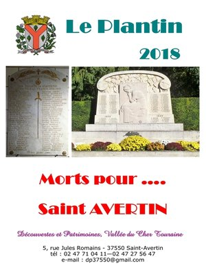 cover image of Morts pour ..... Saint--Avertin