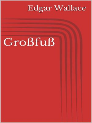 cover image of Großfuß