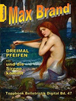 cover image of Dreimal Pfeifen