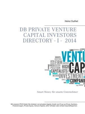 cover image of DB Private Venture Capital Investors Directory  I--2014