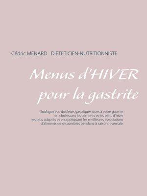 cover image of Menus d'hiver pour la gastrite