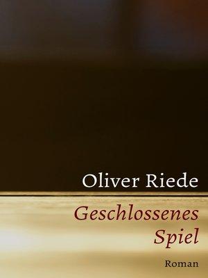 cover image of Geschlossenes Spiel