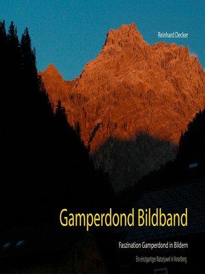 cover image of Gamperdond Bildband