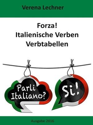 cover image of Forza! Italienische Verben