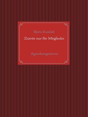 cover image of Zutritt nur für Mitglieder