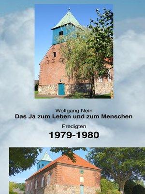cover image of Das Ja zum Leben und zum Menschen, Band 14