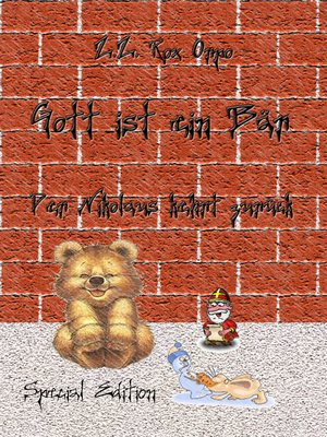 cover image of Gott ist ein Bär Der Nikolaus kehrt zurück Special Edition