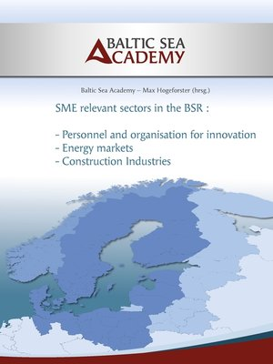 cover image of SME relevant sectors in the BSR