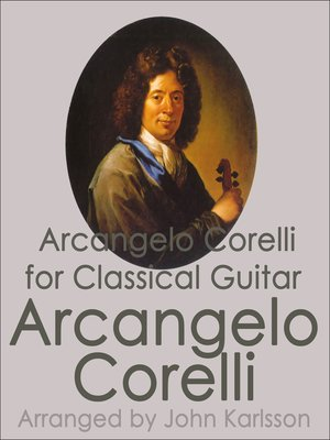 cover image of Arcangelo Corelli for Classical Guitar