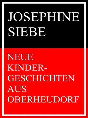 cover image of Neue Kindergeschichten aus Oberheudorf