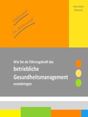 cover image of Gesund in Führung!