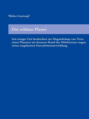 cover image of Der schlaue Planet
