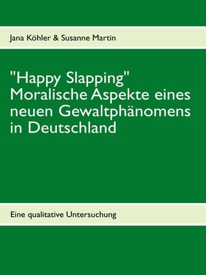 "cover image of ""Happy Slapping"""