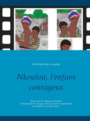 cover image of Nkoulou, l'enfant courageux