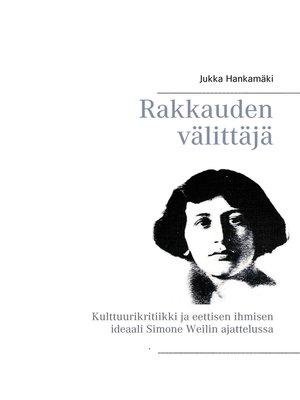 cover image of Rakkauden välittäjä