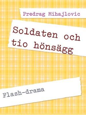 cover image of Soldaten och tio hönsägg