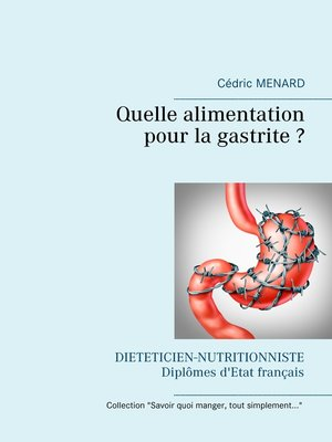 cover image of Quelle alimentation pour la gastrite ?
