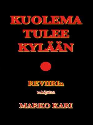 cover image of Kuolema tulee kylään