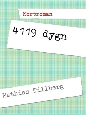 cover image of 4119 dygn
