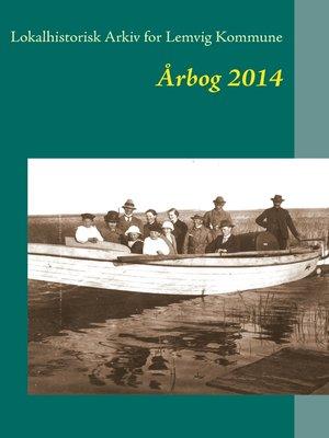 cover image of Lemvig arkivernes årbog 2014