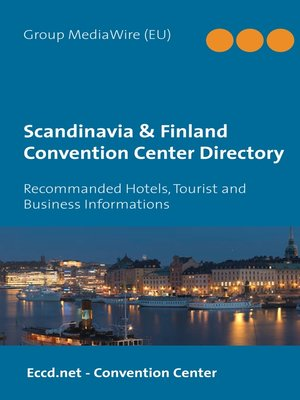 cover image of Scandinavia & Finland Convention Center Directory