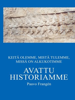 cover image of Avattu historiamme