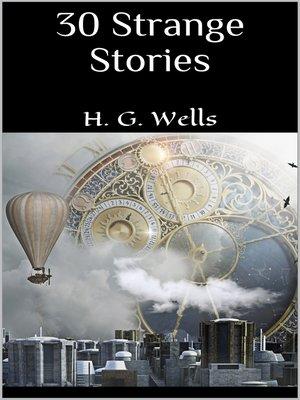cover image of 30 Strange Stories