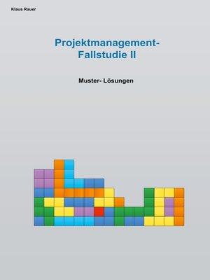 cover image of Fallstudie Projektmangement II