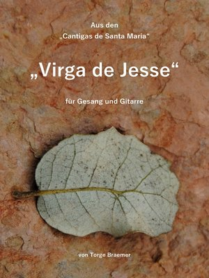 cover image of Virga de Jesse