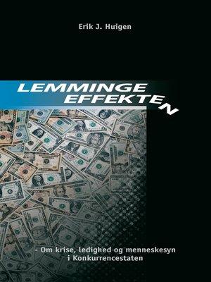 cover image of Lemmingeeffekten