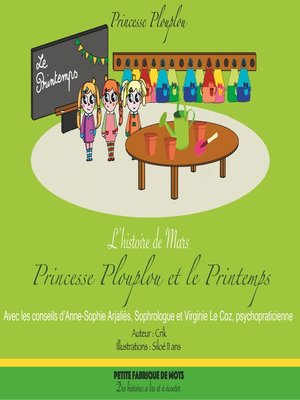 cover image of Princesse Plouplou et le Printemps