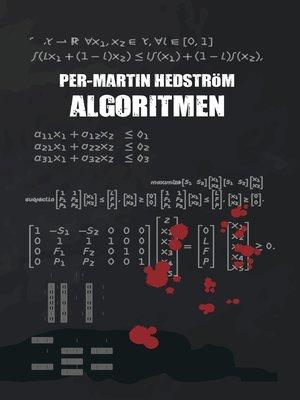 cover image of Algoritmen