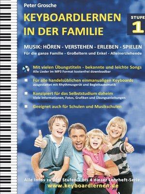 cover image of Keyboardlernen in der Familie (Stufe 1)
